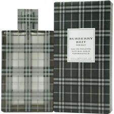 Burberry Brit by Burberry For Men 3.3 oz Eau de Toilette Spray In Box SEALED