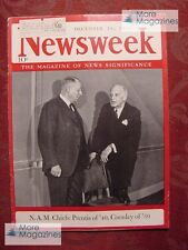 NEWSWEEK Magazine December 18 1939 WWII Business NAM War Relief Finland
