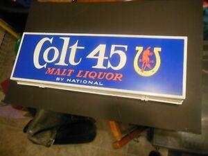 Colt 45 Malt Liquor lighted beer sign