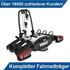 Thule VeloCompact 3 Fahrradträger für 3 Fahrräder für Anhängerkupplung