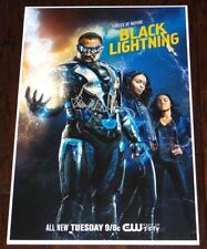 CRESS WILLIAMS SIGNED BLACK LIGHTNING 12X18 POSTER!!!