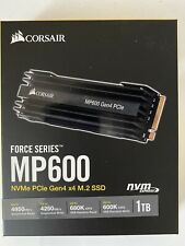CORSAIR CSSD-F1000GBMP600 Force Series Gen.4 PCIe MP600 NVMe M.2 SSD 1TB