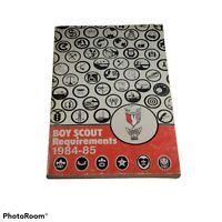 VINTAGE Boy Scout Requirements 1984-85