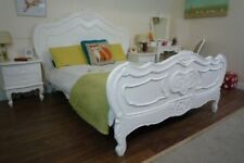 Handmade Solid Wood Baroque/Rococo Style Bed Frames & Divan Bases