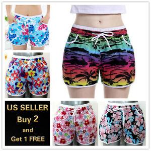 Multi-color Women's Sports Shorts Yoga Gym Jogging Lounge Summer Beach Pants