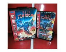 Mega Turrican US Cover for Sega MegaDrive Video Game console 16 bit MD