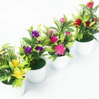 Potted Weddings Flowers Fake PU Water Lily Artificial Simulation Small Lotus New