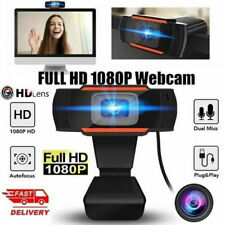 WEBCAM FULL HD 1280x720 PC con microfono skype smartworking video chiamate