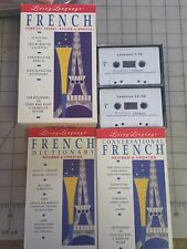 Living Language Learn French Complete Course NEW 40 Lesson Set 2 Cassettes