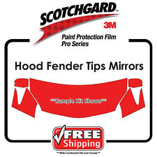 3M 846 Scotchgard Paint Protection Film Toyota Prius Prime Plus Hood Bumper