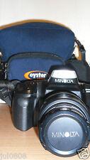 MINOLTA DYNAX 300si 35MM FILM SLR CAMERA WITH MINOLTA AF 35-70MM LENS & CAP X238