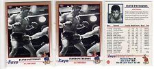 1X FLOYD PATTERSON 1991 Kayo #50 Lots Available WBA WBC WBO IBF Boxing