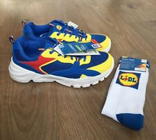 LIDL LIMITED EDITION MENS TRAINERS SNEAKERS UK 11 EU 45 + LIDL SOCKS