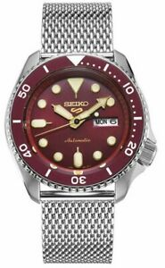 Seiko 5 Gents Automatic Divers Style Sports Watch SRPD69K1 NEW
