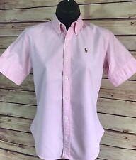 Ralph Lauren Pink Button Down Shirt Size 2