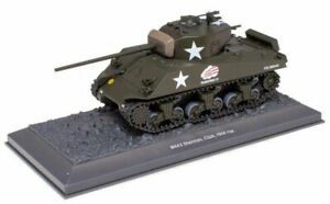 M4A3 Sherman - 1944 1:43 Legends of Armored Vehicles DeAgostini Russia