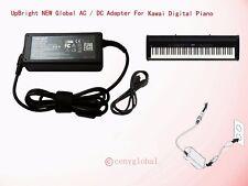 AC Adapter For KAWAI ES4 ES6 ES8 Digital Piano 888365598109 PS-153U Power Supply