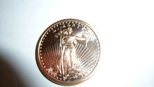Collectors One Avdp Ounce .999 Pure Fine Copper St. Gaudins Coin