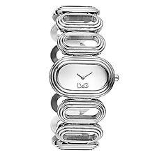 Dolce E Gabbana Damenuhr Stahl Silber Cortina dw0617 D&g Time Original