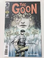 THE GOON #15 (2005) DARK HORSE COMICS AUTOGRAPHED by ERIC POWELL with COA! NM