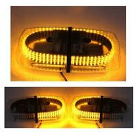 240LED Roof Top Emergency Beacon LampWarning Flash Strobe Light Bar Yellow&Amber