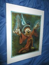 FANTASIA  Art Print ~Disney Parks Exclusive  DARREN WILSON Art (Mickey Mouse)