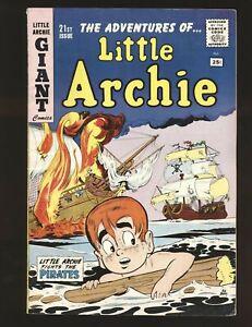Little Archie Giant Comics # 21 VG/Fine Cond.