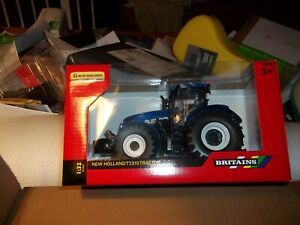 BRITAINS   43149A1  NEW HOLLAND T7.315 TRACTOR NEW BOXED