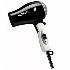 Avanti 1600 W Black Travel Hair Dryer AV-TRAVC