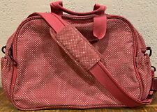 Tous Baby Diaper/Baby Bag Pink With Dots Shoulder/ Crossbody Bag