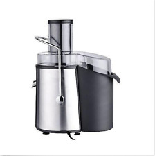 Chef's Star Juicer Wide Mouth Fruit & Vegetable Juice Extractor- Stainless Steel