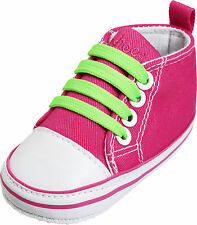 Playshoes Babyschuh Canvas Turnschuh pink