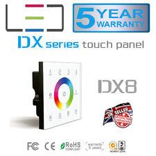 DX8 DMX 2.4G RF Wall Multi Function RGBW Controller RGB LED Strip 5050 2835