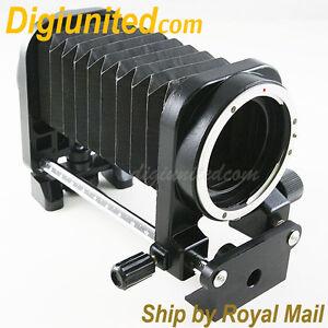 Macro Fold Extension Bellows for Canon EOS EF mount camera 5D II 7D 50D 60D 600D