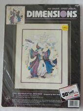 """New ListingNew Dimensions Cross Stitch Kit The Wonderful Wizard 12"""" x 16"""" #39000 Nip"""