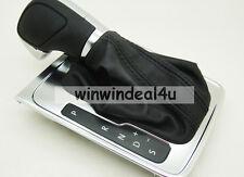 Genuine Leather AT DSG Gear Shift Knob Boot For VW Volkswagen Passat B7L CC