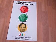 ART  Paul FREEMAN  Patrick DUFFY & R THOMAS  Wyndham's Theatre Original Poster