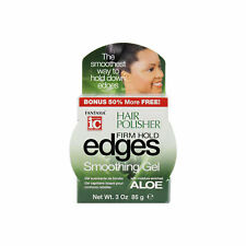 Fantasia IC Hair Polisher Firm Hold Edges Smoothing Gel with Aloe no flaxing 3oz