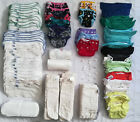 HUGE+Cloth+Diaper+Lot%21%C2%A0+bumGenius+and+Best+Bottom%2C+Inserts+and+More%21