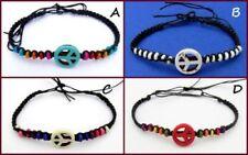Natürliche Unisex Modeschmuck-Armbänder aus Holz