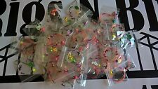 Sea fishing Rigs x 30 mixed Sea Rigs - Rigs N Bits Newcastle - 1, 2, 3 hook rigs