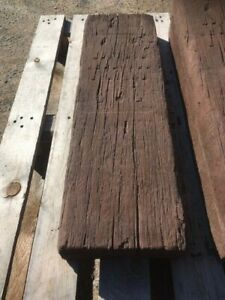 850 x 260 x100mm Concrete sleepers Weathered Brown inc del ( some exceptions)