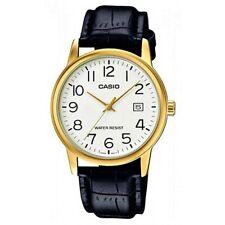 ed18bb02184d Reloj Analogico CASIO MTP-V002GL-7B2 - Correa De Cuero - Dia Del Mes