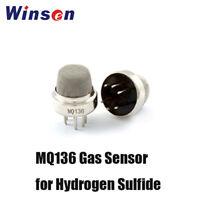 4PCS Winsen MQ136 Semiconductor Gas Sensor for H2S NH3 VOC Gas Leakage Detector