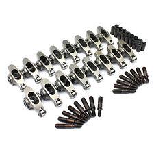 Ford 302C 351C 400M 1.7 Bolt-on Adjustable Stainless Steel Roller Rocker Arm Set