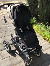 Bugaboo Buffalo Pram Stroller (Black and Green)