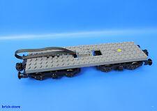 LEGO® Eisenbahn 7938 / Power Functions Motor+6x24 Platte dunkelgrau+Achse puffer