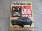 AUTO JOURNAL N°10 01/06/1978 24H DU MANS CHOC PORSCHE RENAULT BMW 323 i K55