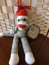 Superfly Sock Monkey Plush Stuffed Animal Toy NEW TAGS NWT