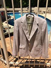 Cricketeer Nordstrom Ladies Jacket Blazer Size 8 Texture Brown Cream Green Fleck